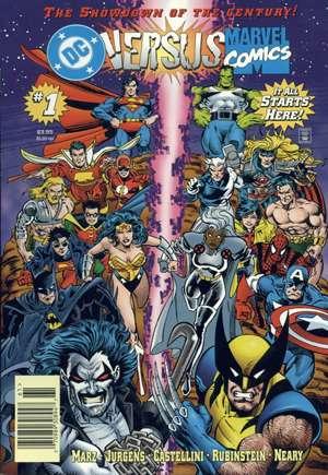 DC Versus Marvel (1996)#1A