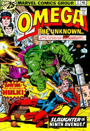 Omega the Unknown (1976-1977)#2A