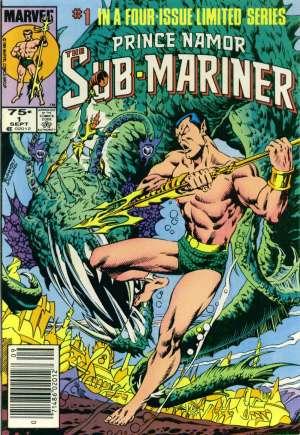 Prince Namor, the Sub-Mariner (1984)#1A