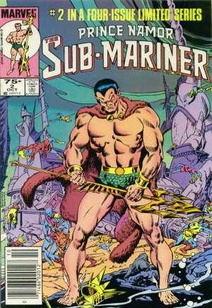 Prince Namor, the Sub-Mariner (1984)#2A