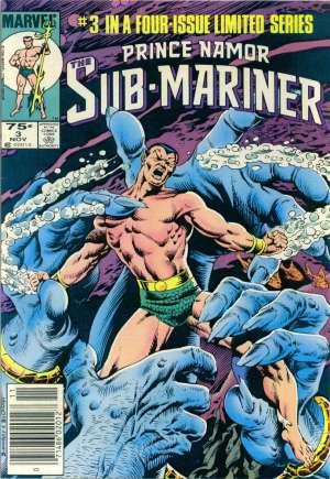 Prince Namor, the Sub-Mariner (1984)#3A