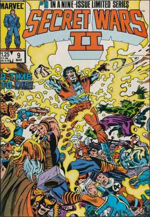 Secret Wars II (1985-1986) #9B