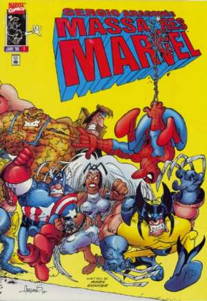 Sergio Aragones Massacres Marvel (1996) #1