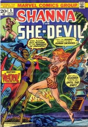 Shanna the She-Devil (1972-1973)#5