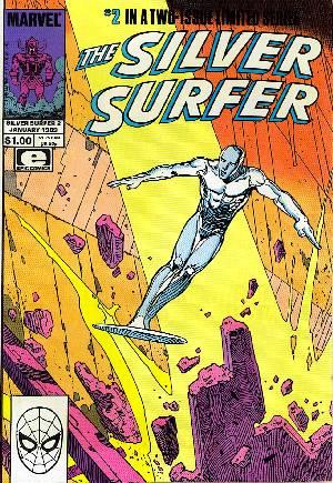 Silver Surfer (1988-1989)#2B