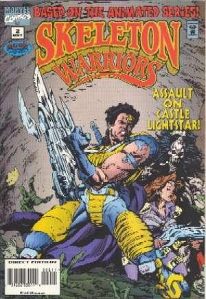 Skeleton Warriors#2