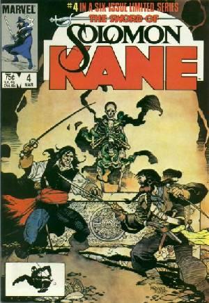 Solomon Kane (1985-1986)#4B