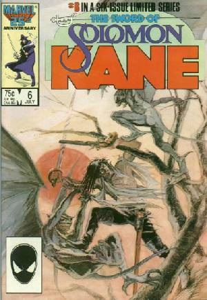 Solomon Kane (1985-1986)#6B