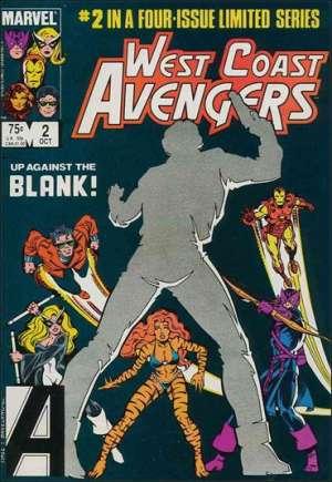 West Coast Avengers (1984)#2B