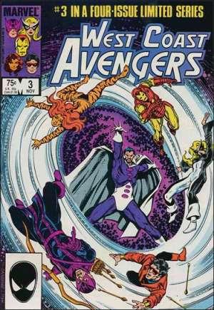 West Coast Avengers (1984)#3B