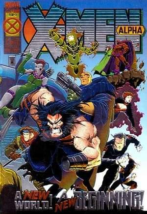 X-Men Alpha (1995)#1A