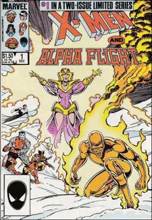 X-Men and Alpha Flight (1985-1986)#1B