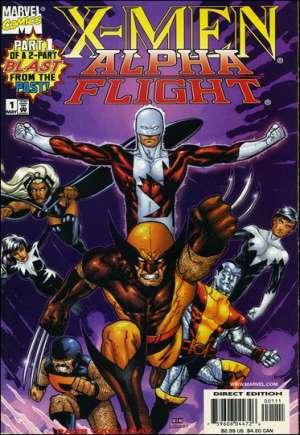 X-Men/Alpha Flight (1998)#1