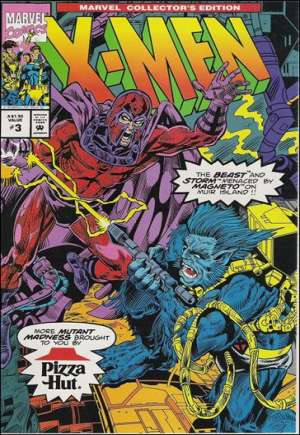 Marvel Collector's Edition: X-Men (Pizza Hut) (1993)#3A