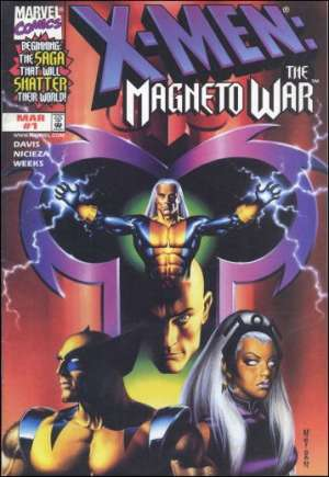 X-Men: The Magneto War (1999)#1B