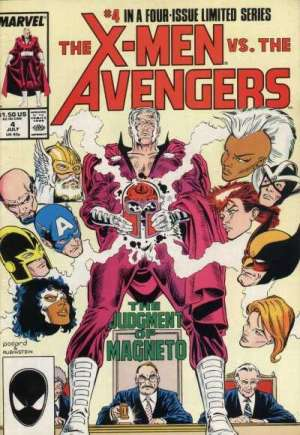 X-Men vs. the Avengers (1987) #4B