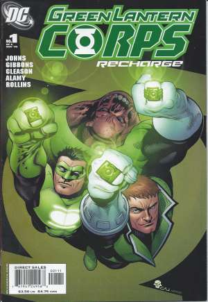 Green Lantern Corps: Recharge#1A