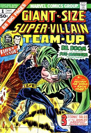 Giant-Size Super-Villain Team-Up (1975)#1