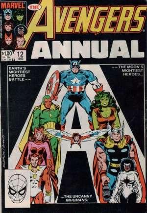 Avengers (1963-1996)#Annual 12B