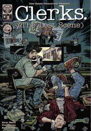 Clerks. (The Lost Scene)#1