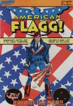 American Flagg (1983-1988)#1