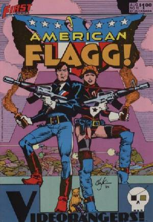 American Flagg (1983-1988)#11