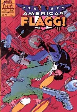 American Flagg (1983-1988)#49
