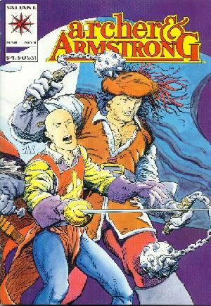 Archer and Armstrong (1992-1994) #8