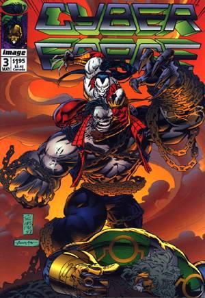 Cyberforce (1992-1993)#3A
