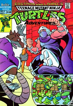 Teenage Mutant Ninja Turtles Adventures (1989-1995)#4A