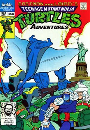 Teenage Mutant Ninja Turtles Adventures (1989-1995)#5A