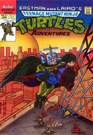 Teenage Mutant Ninja Turtles Adventures (1989-1995)#21
