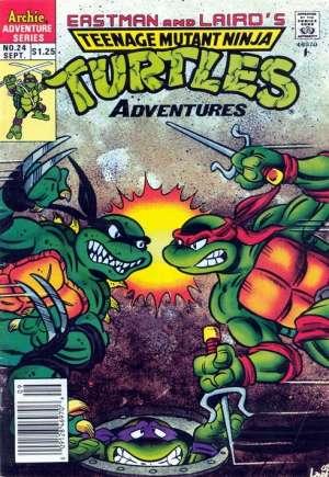 Teenage Mutant Ninja Turtles Adventures (1989-1995)#24