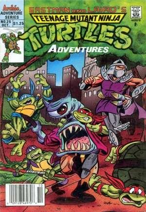 Teenage Mutant Ninja Turtles Adventures (1989-1995)#25