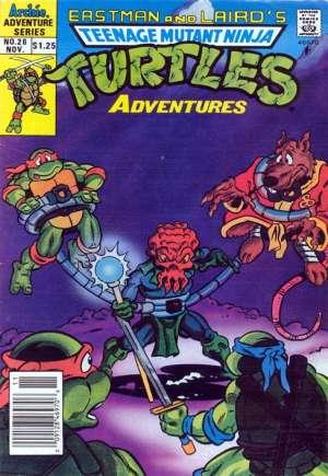 Teenage Mutant Ninja Turtles Adventures (1989-1995)#26