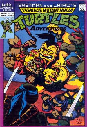 Teenage Mutant Ninja Turtles Adventures (1989-1995) #32