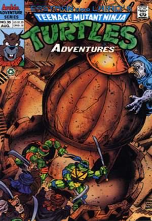 Teenage Mutant Ninja Turtles Adventures (1989-1995)#35