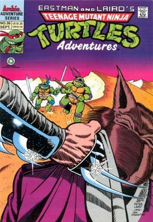 Teenage Mutant Ninja Turtles Adventures (1989-1995) #36