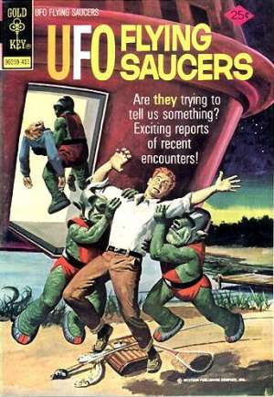 UFO Flying Saucers #4A