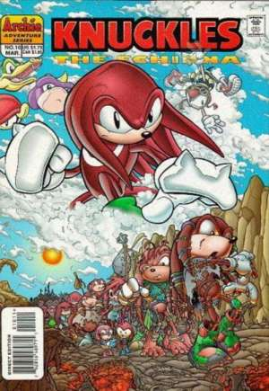 Knuckles the Echidna (1997-2000)#10