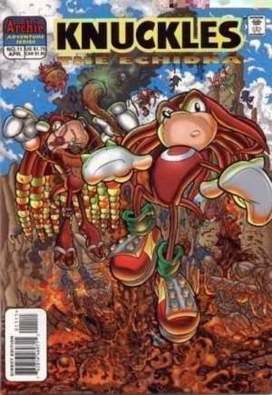 Knuckles the Echidna (1997-2000)#11