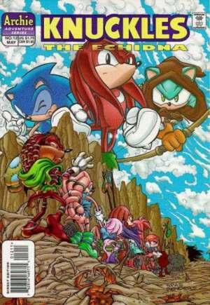 Knuckles the Echidna (1997-2000)#12