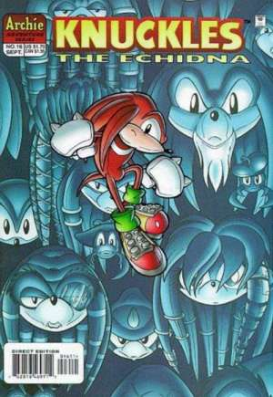 Knuckles the Echidna (1997-2000)#16