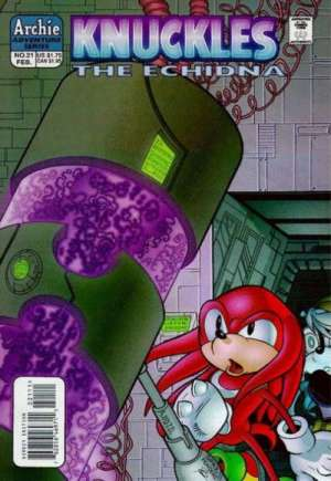 Knuckles the Echidna (1997-2000)#21