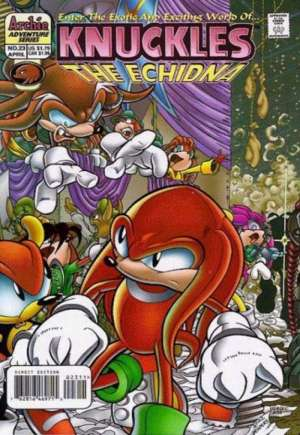 Knuckles the Echidna (1997-2000)#23
