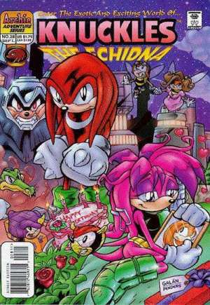Knuckles the Echidna (1997-2000)#28