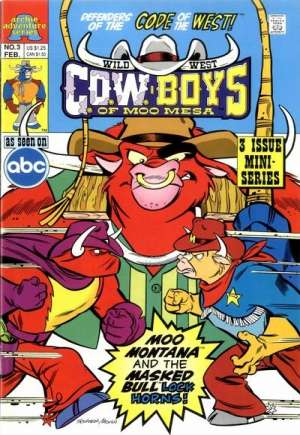 Wild West C.O.W.Boys of Moo Mesa (1992) #3