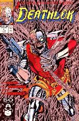 Deathlok (1991-1994) #1 Variant B: Direct Edtion, Metallic Ink Cover