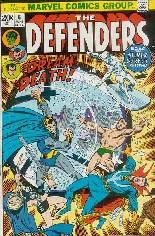 Defenders (1972-1986) #6 Variant A