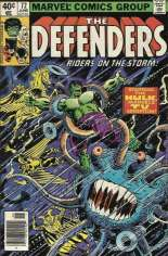 Defenders (1972-1986) #72 Variant A: Newsstand Edition